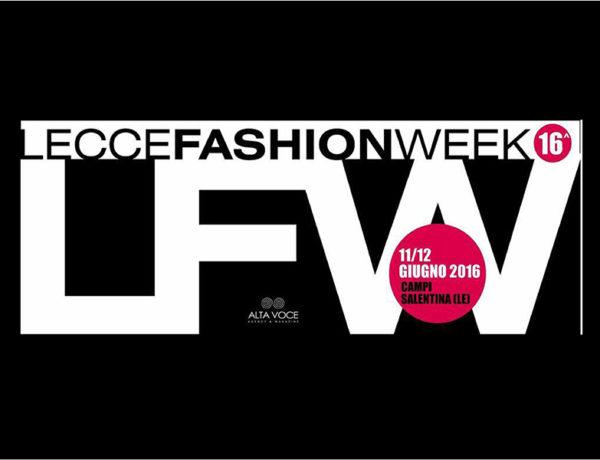 lecce fashion week-end